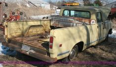 4600B.JPG - 1973 International Harvester truck, Model 1110, 54,801 miles, Inactive for approximately 10 years, S...