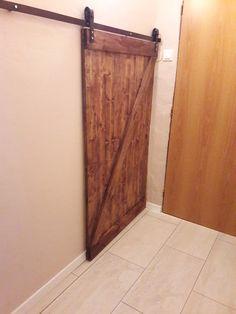 Hidden ugly entrance to cellar