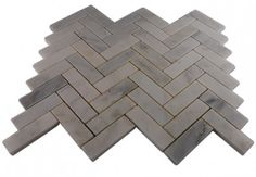 ASIAN STATUARY HERRINGBONE 1X3 MARBLE TILE- shop glass tiles at glasstilestore.com (for fireplace)