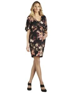 4e54e19f19c Floral Braided Back Dress by Maternal America  maternity  fashion  pregnancy   style