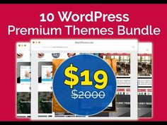 You will get a total of 10 Premium products with a clean, modern look and with a well-structured code. They can be easily modified to fit your needs. And if you need a little help – you will see details for each theme!  On top of that, each theme has an extended, multi-use license, allowing you to use them for multiple commercial or non-commercial projects!  10 WordPress Premium themes: http://dealmirror.com/product/10-premium-web-development-themes-bundle/