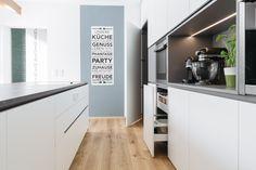 krumhuber.design › Gesamtkonzept FL Kitchen Cabinets, Design, Home Decor, Kitchens, Apartment Kitchen, Decoration Home, Room Decor, Cabinets