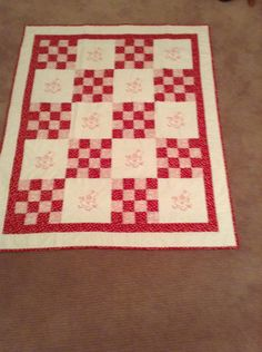 Sunbonnet Sue Quilt by mommomsquilts on Etsy