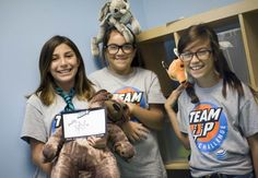 Destination Imagination team from Team Up Challenge, presented by AT, built a sensory room for kids with some help from Silver Star Jayne Appel