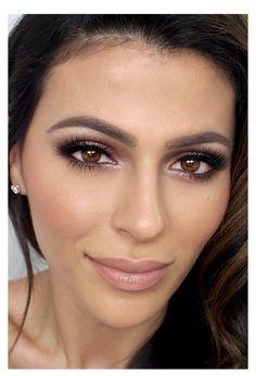 Flawless makeup {eye makeup look for brown eyes}