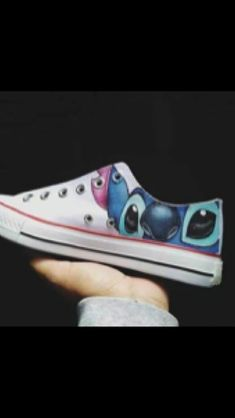 Someone pls get these for me Lilo Y Stitch, Cute Stitch, Disney Shoes, Disney Outfits, Custom Converse, Custom Shoes, On Shoes, Me Too Shoes, Free Shoes