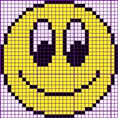 Smiley No. Cross Stitch Borders, Cross Stitch Baby, Cross Stitch Flowers, Cross Stitch Charts, Cross Stitch Designs, Cross Stitching, Cross Stitch Embroidery, Cross Stitch Patterns, Quilt Patterns