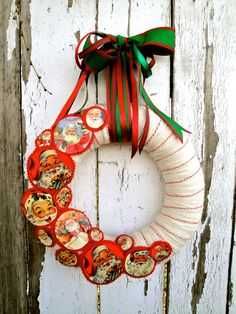 Christmas Wreath, via Etsy.