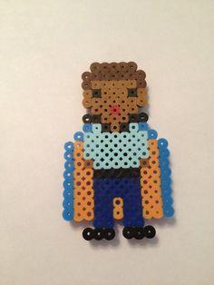 Star Wars Lando Perler Beads by SongbirdBeauty