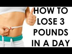 How to lose 3 pounds in a Day - Christina Carlyle - YouTube