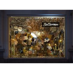 Celebrating time new Bellerose window featuring Florence Coenraets headdresses! Go have a look between the glitters. #letscelebrate #accessories #belgianbrand #fashion #brussels Thanks to @mattestic and @belleroseofficial by florence_coenraets
