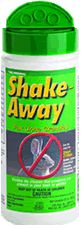 Shake Away Animal Repellent  This REALLY works better than anything we have ever found. We had a skunk in our old garage and sprinkled it inside and around. Within 2 days not only the skunk but the smell was gone as well. Our son has used if to keep armidillos out of his freshly sodded St Augustine and on red tip phoetinias to keep deer from eating them!! It IS THE greatest product EVER!!!!