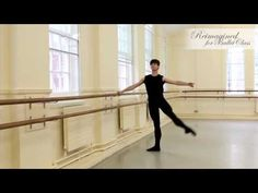 Bosu Balance Exercise -Ballet - YouTube