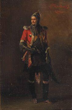 Circassian Cherkess Adolphe Ladurner