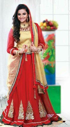 Lehenga, Sarees, Kirthi Suresh, Half Saree, Heroines, Hd Photos, Indian Beauty, Indian Actresses, Lamps