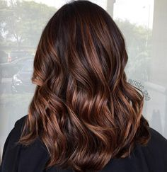 espresso brown hair with cinnamon, mocha soft balayage Matrix Hair Color, Hair Color And Cut, Brown Hair Colors, Mocha Brown Hair, Mocha Hair, Chocolate Brown, Soft Balayage, Balayage Hair, Brown Hair With Balayage