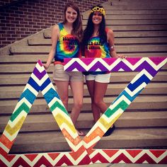 Our chapter is famous on Pinterest  our bid day theme was pretty great ✌ Delta Zeta - Pi Lambda at UTC