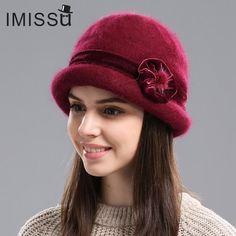 56b7ce9f7f2 Rabbit Fur Hat for Women ~ Beanies ~ Skullies