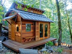From the FB page of Tiny House Design is called: The Shed, Photo by Benjamin