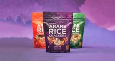 Arare Rice Crackers on Packaging of the World - Creative Package Design Gallery