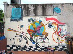 Hermosas Bicicletas Plasmadas En Las Paredes