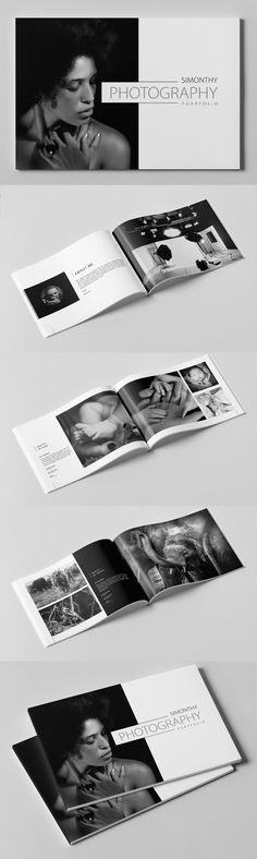 Minimal Brochure Template #brochuredesign #brochuretemplate #catalogdesign #catalogtemplate #fashionbooklet #photographybooklet #photographybrochure #photographyportfolio #fashionlookbook