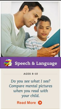 Encourage your child to visualize stories while reading. Click for details. #SpeechandLanguage