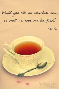 Not even adventure can surpass tea time | drinkbhakti.com