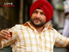 And last but never the least, haven't we all loved him as the Punjabi lover in Love Is All, Love Him, Saif Ali Khan, Superstar, Bollywood, Celebs, Couple Photos, Mens Tops, Celebrities