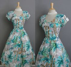 Vintage 80s does 50s VLV Hawaiian Novelty Surf by GGMMVintage, $50.00