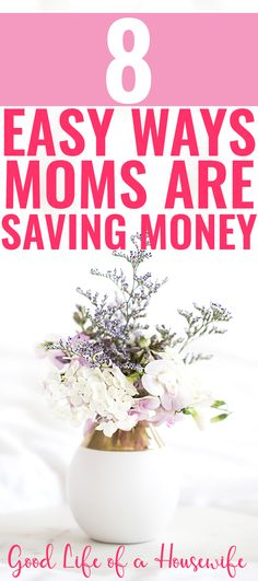8 easy ways moms are saving money money saving mom - group b Make More Money, Ways To Save Money, Extra Money, Money Plan, Money Tips, Money Saving Mom, Managing Your Money, Frugal Living Tips, Financial Tips