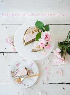 Get the recipe for this gorgeous pistachio rose cake via Sweet Laurel