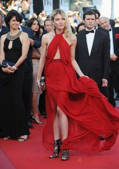 Dree Hemingway Evening Dress - Dree Hemingway Looks - StyleBistro