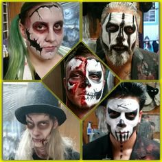 A few pix of some makeup I did for the Haunted Trail of Balboa Park