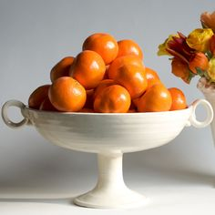 No. 6 Diego Footed Bowl - Frances Palmer Handmade Collection #bonvivant #eclectic #dreamdigs