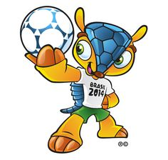 cant believe this could be the official 2014 world cup mascot