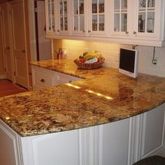 Kitchens With Brown Granite Countertops