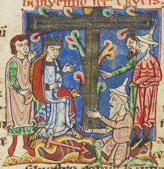 "Tagged ""12th century"" | Illumanu.12th century probably from Germany - Weissenau  Cologny, Fondation Martin Bodmer  Cod. Bodmer 127: Passionary of Weissenau; Vitae Sanctorum (Lives of the Saints)"