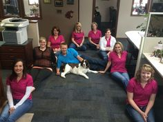 Meet the staff in Lewiston, Idaho! And Molly, of course :)