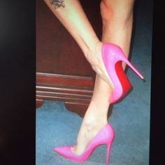 "CHRISTIAN LOUBOUTIN SO KATE 12O PUMPS 40.5. BNWB AUTHENTIC!!  Includes original box, dust bag and heel taps. 5"" covered stiletto heel. Fits about a 9.5 as this designer runs small!  Color is SHOCKING PINK. Christian Louboutin Shoes Heels"