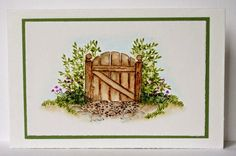 Bleeding Hearts Gate RETIRED ART IMPRESSIONS RUBBER STAMPS L@@K @EXAMPLES Sold separately are the other items used in the examples. Art Impressions. You can purchase all items in my ebay store: Pat's Rubber Stamps & Scrapbooks, Click on the picture & see the listing , or call me 423-357-4334 with order, We take PayPal. You get FREE SHIPPING ON PHONE ORDERS of $30.00 or more. If it says sold I have more. Use my search engine to find other items U R interested in.