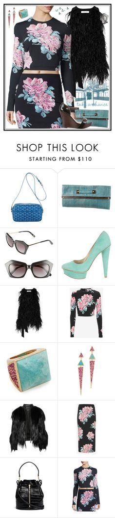 """""""Fall Style With The RealReal: Contest Entry"""" by yours-styling-best-friend ❤ liked on Polyvore featuring Goyard, MELIN, R&Y Augousti and Elizabeth and James"""