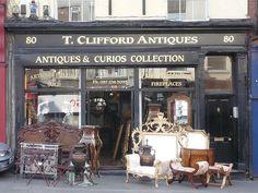Antiques Shop, Dublin, Ireland..