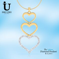 Of course we know Diamonds are a women's best friend then why do you feel the need to wait to buy #Diamond #pendant online..