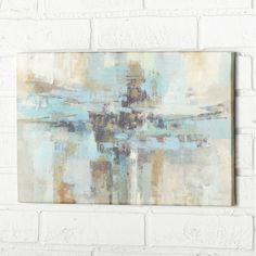 """Found it at AllModern - """"Morning Fjord"""" by Silvia Vassileva Painting Print on Wrapped Canvas"""