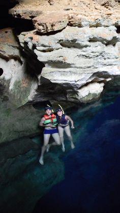 Poço Azul - Chapada Diamantina - Lençois, Bahía - 7 Magical Places to Visit in Brazil © Milaglot / milaglot.com