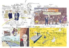 Olivier Kugler: Drawn From Life/Reportage Reflective Journal, Observational Drawing, Its Nice That, Travel Illustration, Cartography, New Work, Storytelling, Illustrators, Digital Art