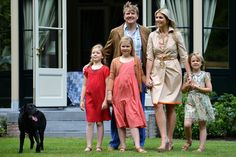 Queen Maxima Princess Ariane of the Netherlands Photos: The Dutch Royal Family Hold Annual Summer Photo Call