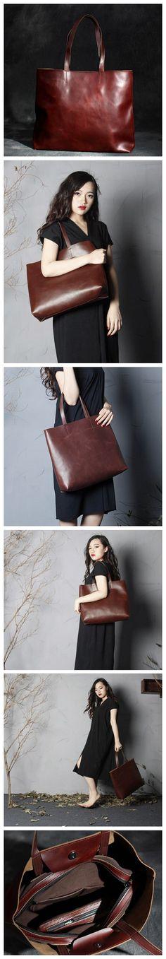 HANDMADE LEATHER WOMEN TOTE BAG SHOPPING BAG SHOULDER BAG WOMEN\'S FASHION LEATHER DESIGN FOR WOMEN