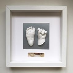 Baby Hand And Foot Prints, Baby Prints, Baby Handprint Crafts, Baby Footprint Art, Baby Cast, Belly Casting, Baby Shots, Casting Kit, Baby Footprints